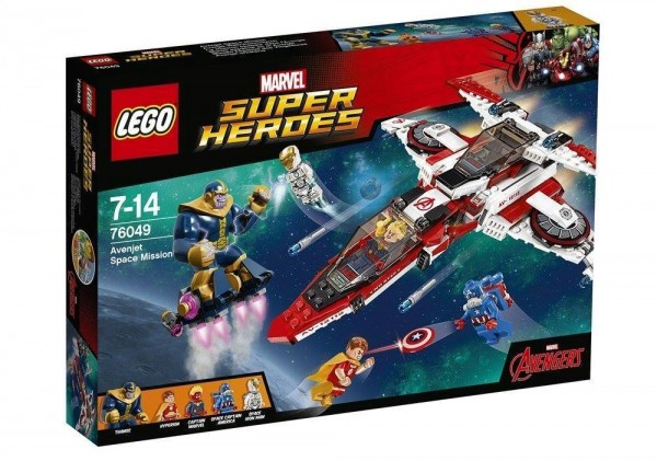 LEGO Marvel 2016 Super Heroes Avenjet Space Mission (76049) box