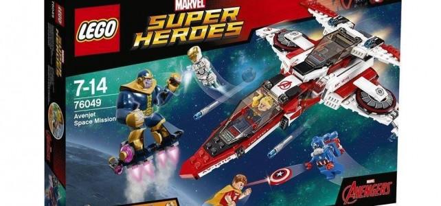 LEGO Marvel 2016 : les visuels officiels des sets 76048 et 76049
