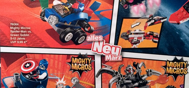 LEGO Mighty Micros