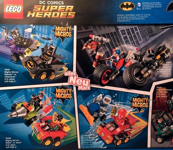 LEGO Mighty Micros
