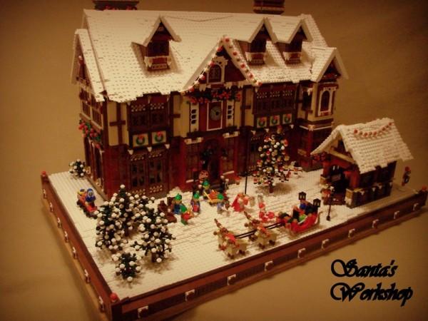 LEGO Santas Workshop UCS atelier du Père Noel