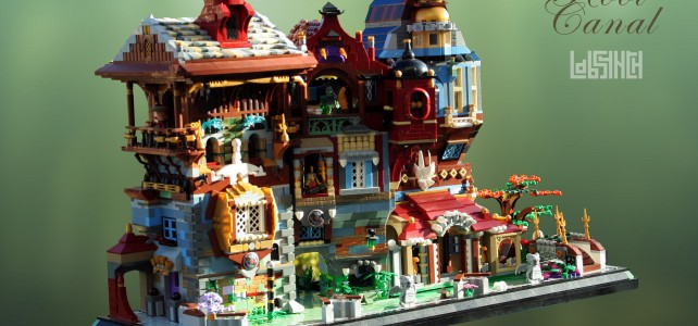 LEGO Venise Root Canal side