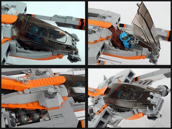 LEGO Vic Viper 1-2