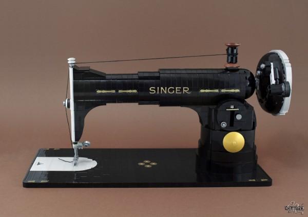 LEGO vieille machine à coudre Singer