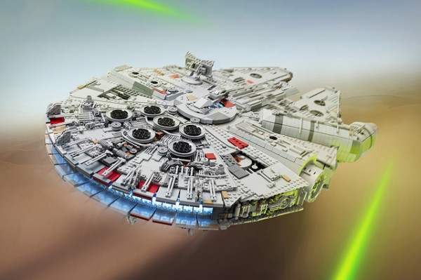 Millennium Falcon The Force Awakens
