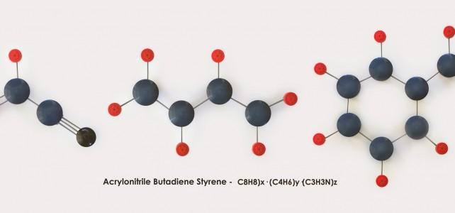 Molécule plastique ABS LEGO