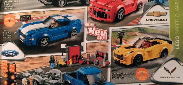 LEGO nouveautés catalogue 2016 Speed Champions