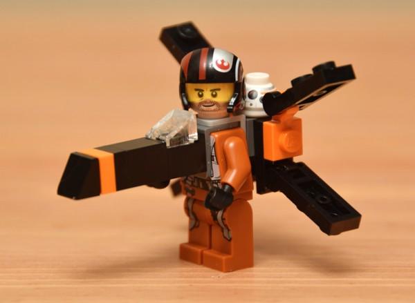 Star Wars TFA X-Wing minifig Costumes LEGO