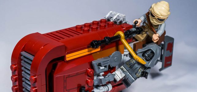 REVIEW LEGO 75099 – Star Wars – Rey's Speeder