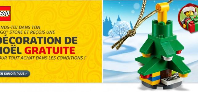 Sapin de Noel décoration LEGO 5003083