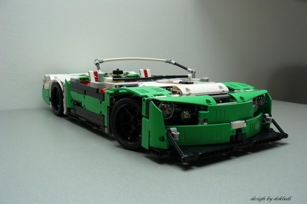 Modele alternatif 42039 La voiture de course des 24 heures