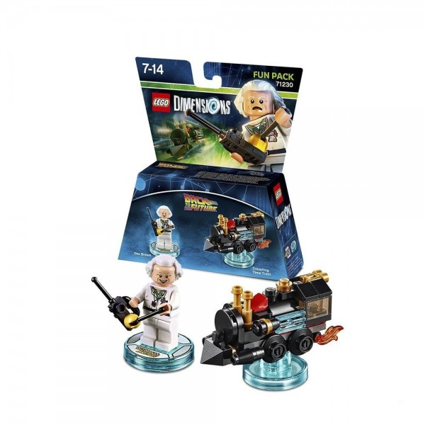 Fun Pack 71230 Doc Brown (Back to the Future)