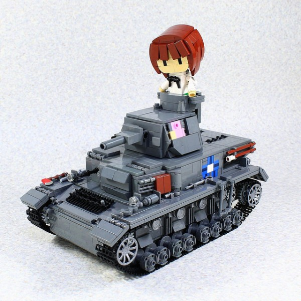 Girls & Panzer Panzerkampfwagen IV Ausf D