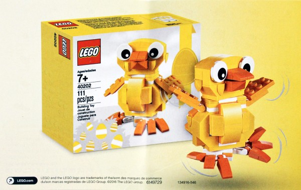 LEGO 40202 Easter Chick