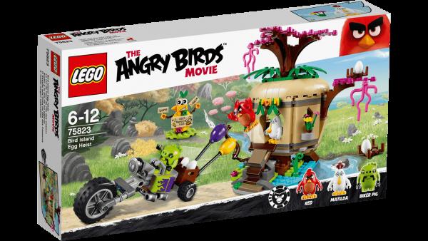 LEGO Angry Birds 75823 Bird Island Egg Heist