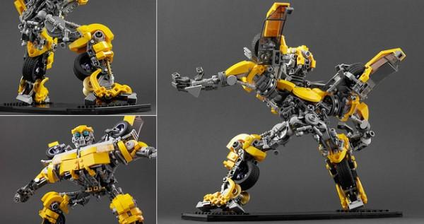 LEGO Bumblebee Transformers details