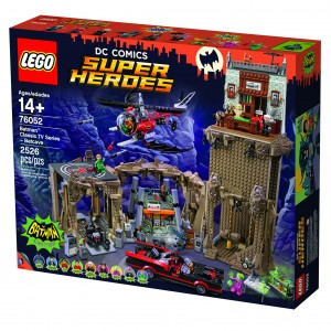 LEGO DC Comics Super Heroes Batman Classic TV Series Batcave 76052 - 01