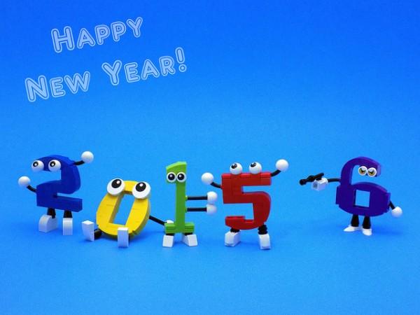 LEGO Happy New Year bonne année 2016