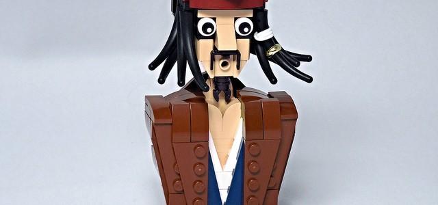 LEGO Pirates des Caraibes buste Jack Sparrow