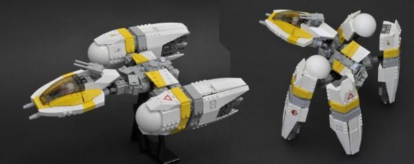 LEGO Star Wars Y-Wing new generation