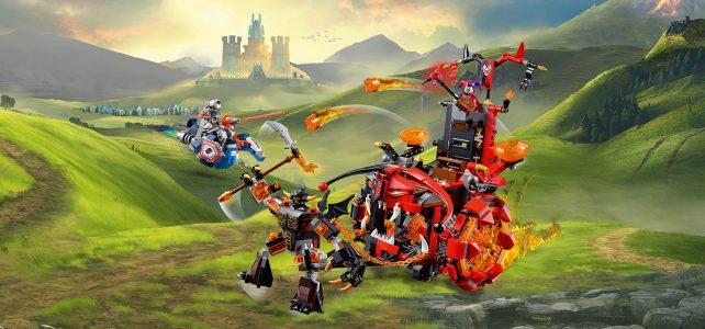 REVIEW LEGO 70316 Nexo Knights – Le char maléfique de Jestro