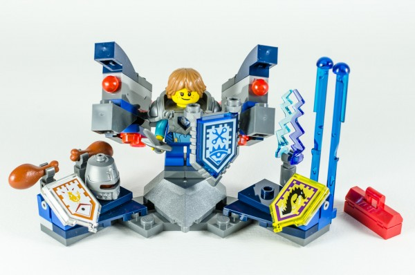 Review LEGO Nexo Knights 70333 Ultimate Robin 20