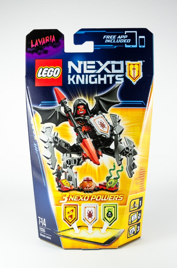 Review LEGO Nexo Knights 70335 Ultimate Lavaria 01