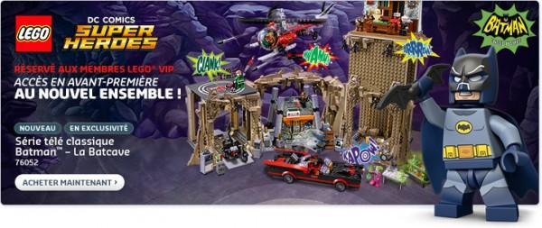 LEGO 76052 VIP Batcave