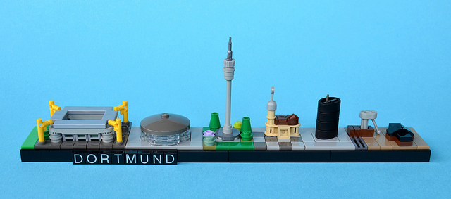 LEGO Architecture Skyline Dortmund