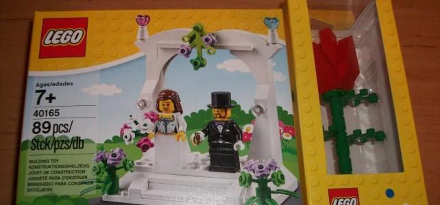 LEGO 40165 Ensemble de mariage Wedding