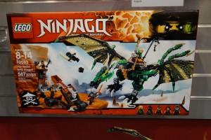 LEGO Ninjago 2016 70593 The Green NRG Dragon 1