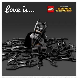 LEGO Saint Valentin Batman
