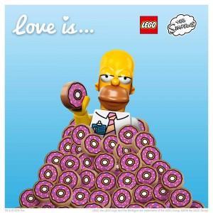 LEGO Saint Valentin Homer