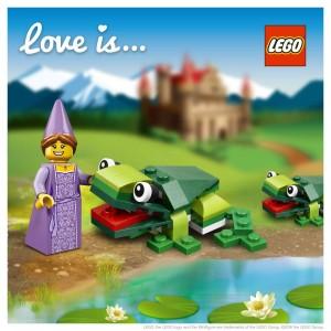 LEGO Saint Valentin Princesse