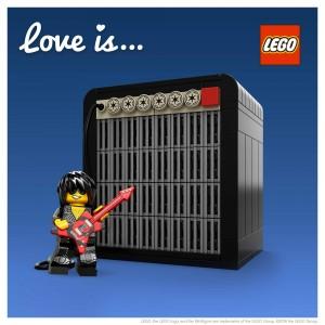 LEGO Saint Valentin Rocker