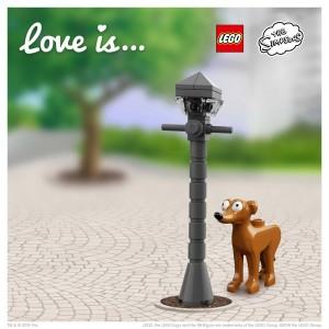 LEGO Saint Valentin Simpsons