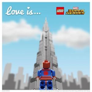 LEGO Saint Valentin Spider-Man