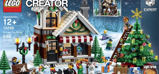 REVIEW LEGO Creator 10249 Winter Toy Shop