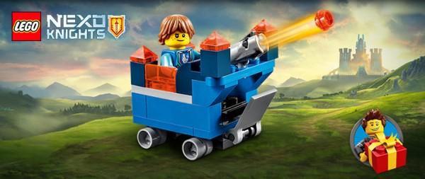 LEGO Nexo Knights 30372 Robin mini Fortrex
