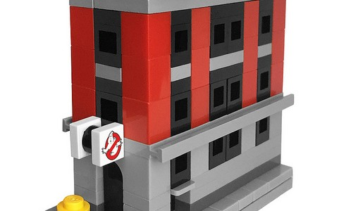 Micro LEGO 75827 Ghostbusters Firehouse Headquarters