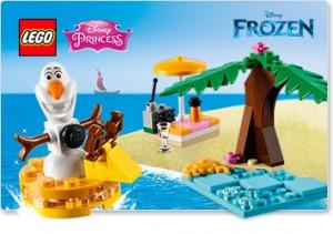 30397 Frozen Les vacances d'Olaf gratuit