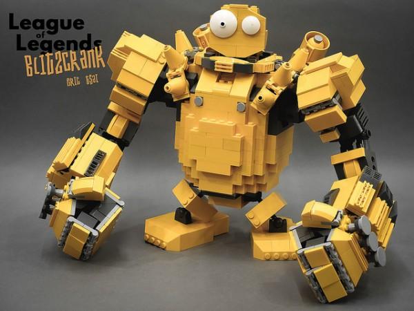 LEGO Blitzcrank League of Legends