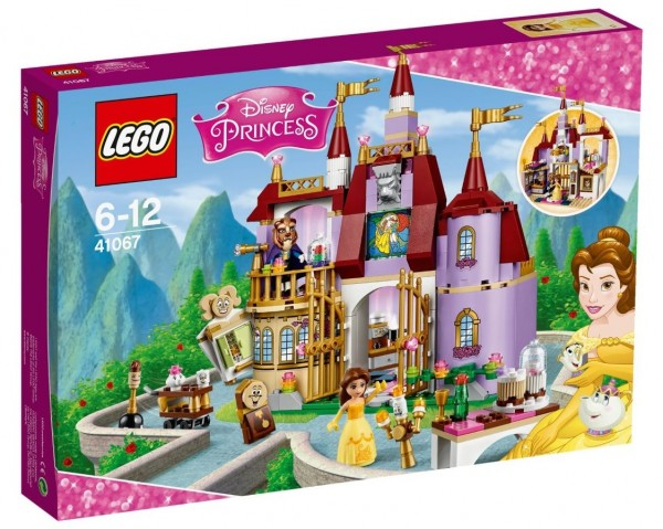 LEGO Disney Princess Belle's Enchanted Castle (41067) box - Nouveautés LEGO été 2016