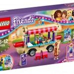 LEGO Friends Amusement Park Hot Dog Stand (41129) box