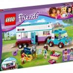 LEGO Friends Vet Horse Trailer (41125) box