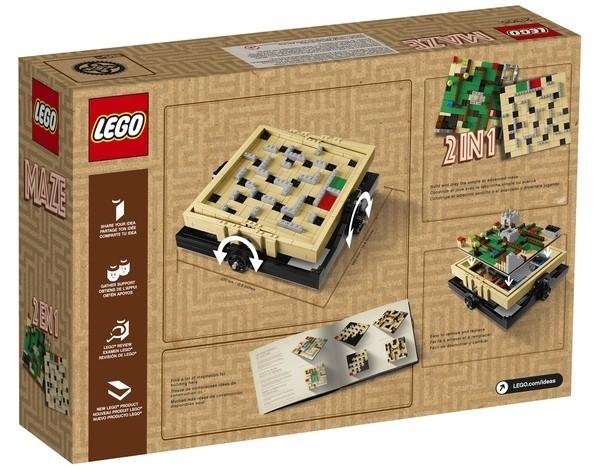 LEGO Ideas 21305 Maze back
