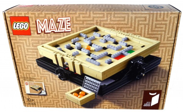 LEGO Ideas 21305 Maze review box front