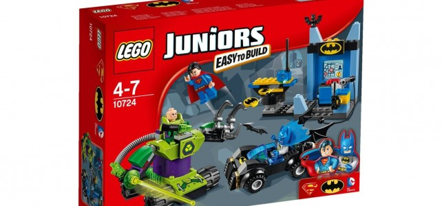 LEGO Juniors Batman & Superman vs Lex Luthor (10724) box