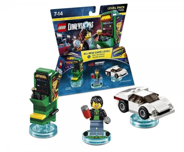 LEGO Dimensions Level Pack 71235 Midway Arcade