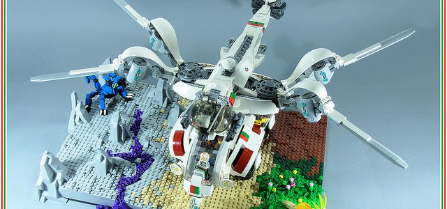 LEGO Octan Scarab & Dragonfly